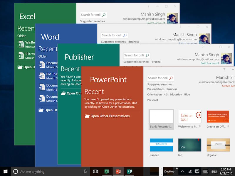 microsoft office 2016 review
