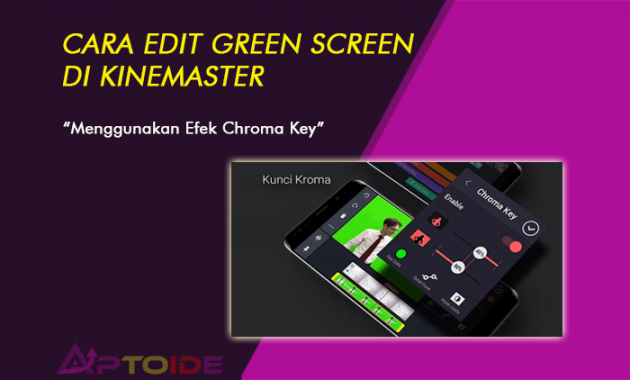 green screen kinemaster