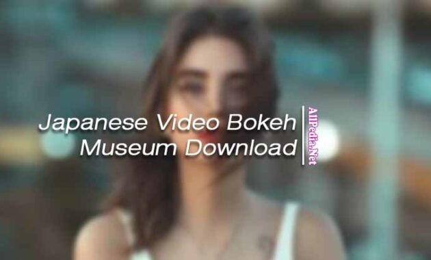 Japanese Video Bokeh Museum Download Link Full HD No Sensor
